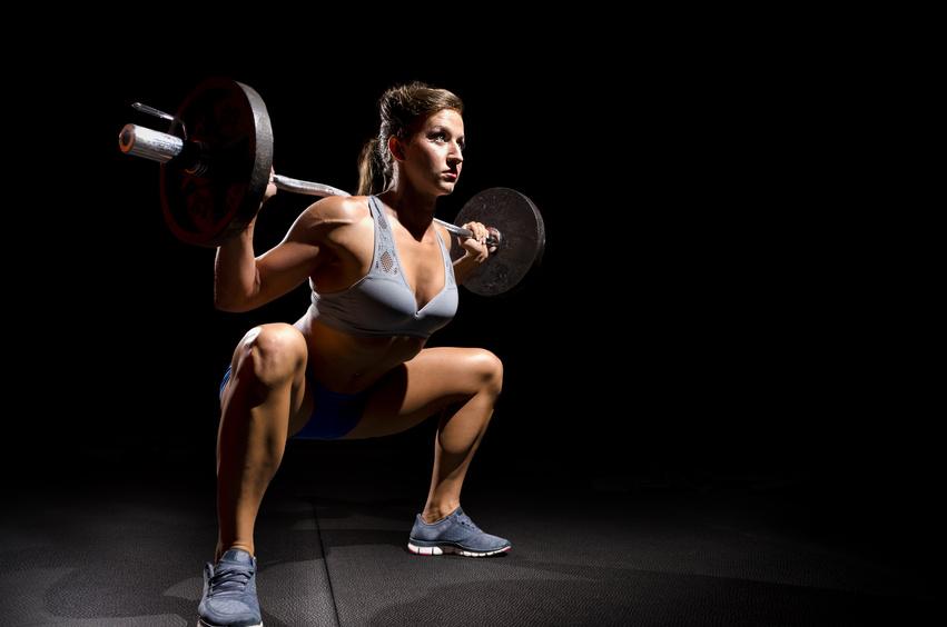 squat femme musculation