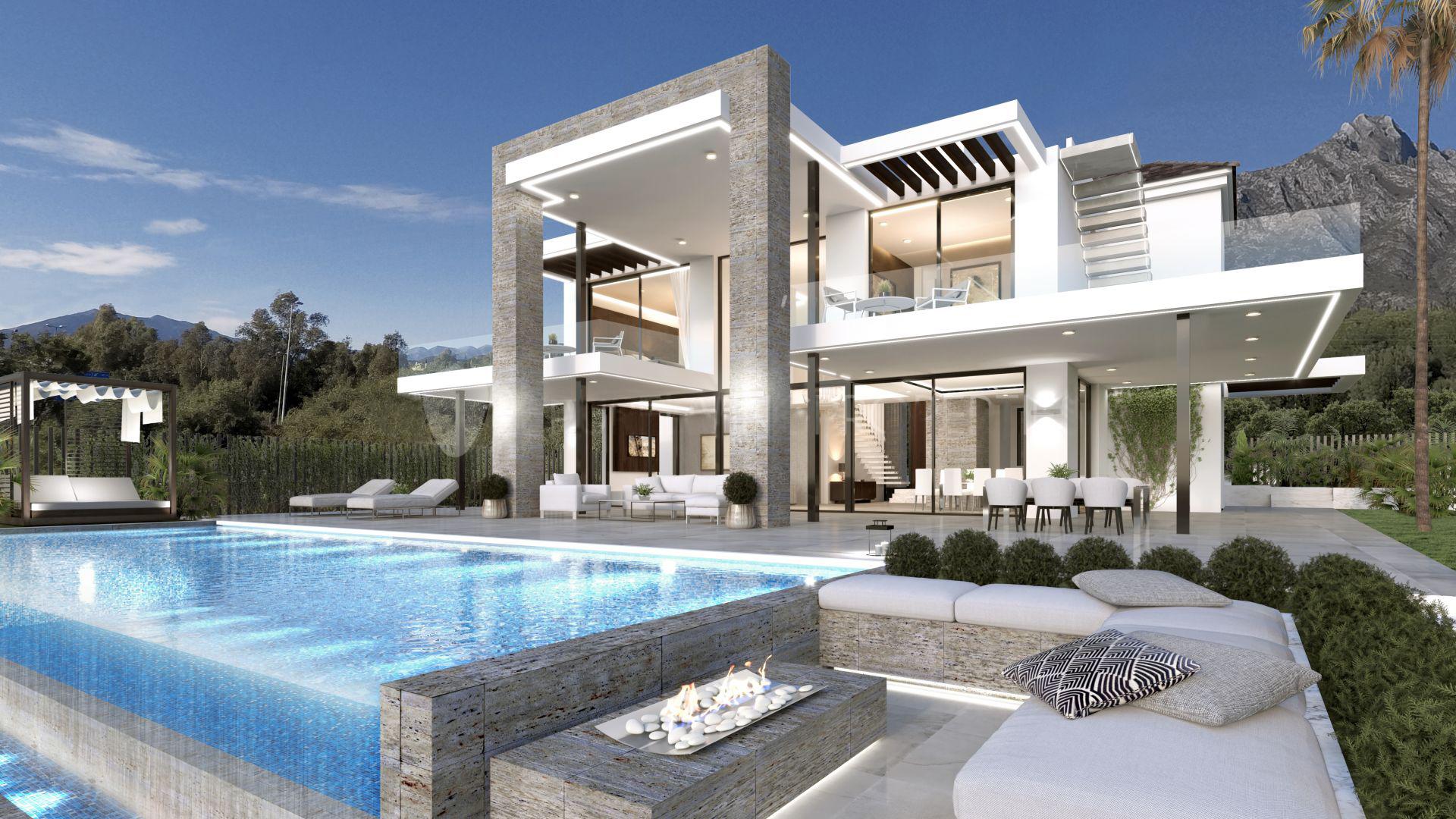 maison villa luxe riche